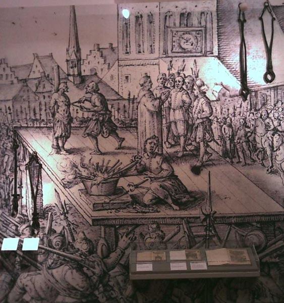 Wiedertäufer Münster Hinrichtung