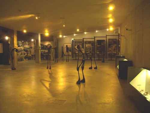KZ-Abteilung des Museums