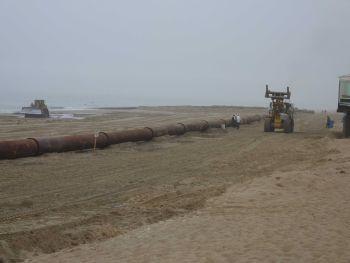 Strandpräparierung