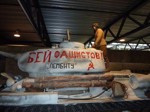 Russischer Panzerkommandant