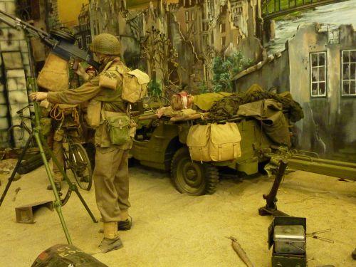 Verletzter Soldat